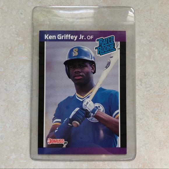 Ken Griffey Jr Rookie Card